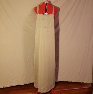 White Stag Beige Maxi Overall Dress